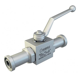 ges 2-way high pressure ball valves
