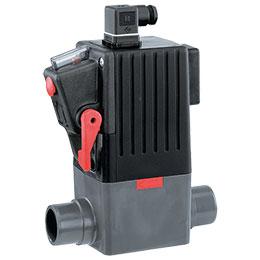 gemu 225 servo assisted 2-2-way plastic solenoid valve