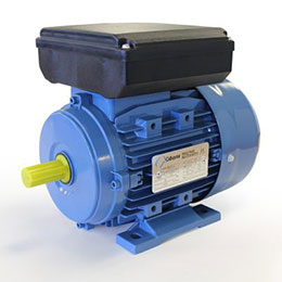 single phase permanent capacitor electric motors