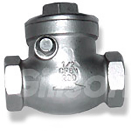 Swing Check Valve Threaded End