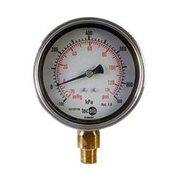 Pressure Gauge 100mm Bottom Entry Tecsis Model P1776/ P1778