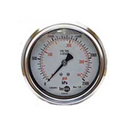 Tecsis Model P2329 Pressure Gauge 100mm Rear Entry