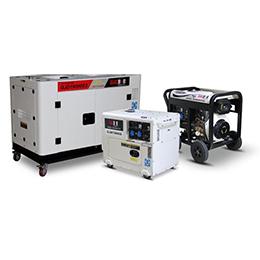 Portable diesel generator model 7kva - 16kva