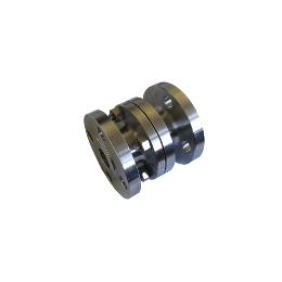 Ball type axial check valve