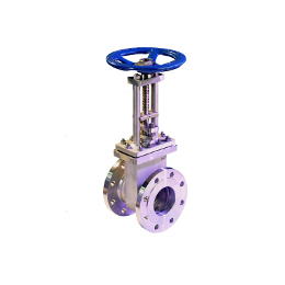 Double disc gate valve
