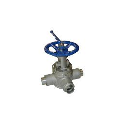 Lift type plug valve