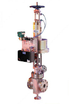 Slide gate valve for high temperature