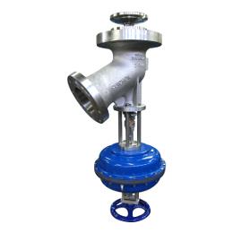 Tank bottom valve-rising disc