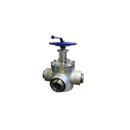 Three-way diverter lift plug valve