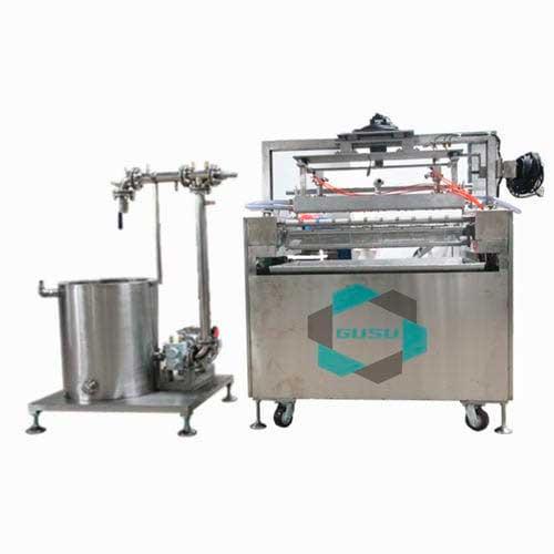 Chocolate texturing machine