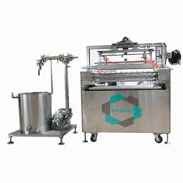 Chocolate texturing machine