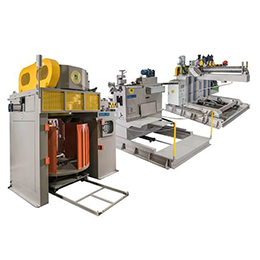 APO/ASV-30+HCD-1200W: Automatic Wire Feeding/Shaving Machine + Handstand Type Wire Drawing Machine