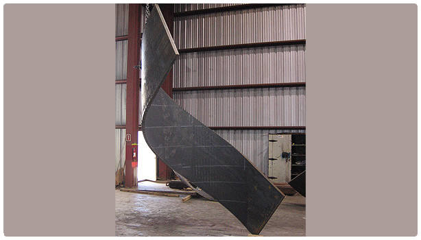 Steel Bending for Spiral Stairways