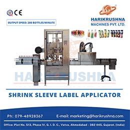 Automatic Shrink Sleeve Label Applicator Machine
