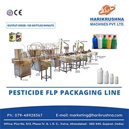 Pesticides Packaging Line