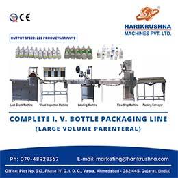 The I. V. Bottle Packing Line - LVP