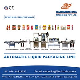 The Liquid Packing Line