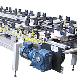 OVER AND UNDER PALLET CONVEYORS