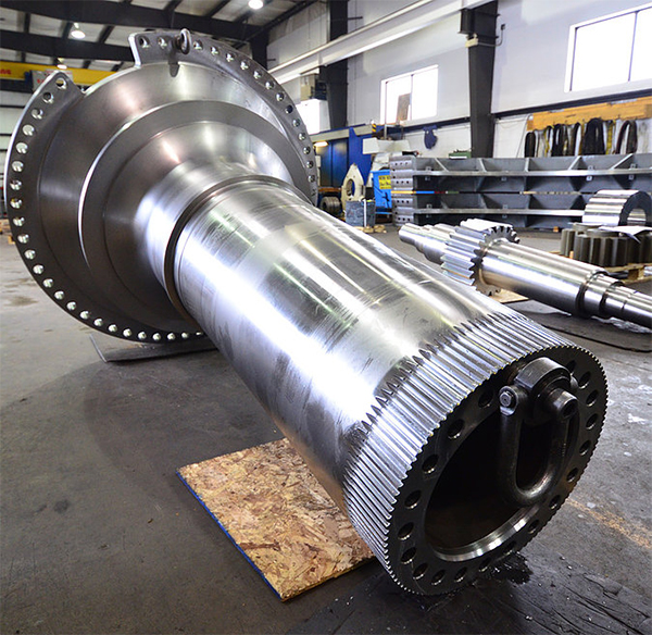 Large Gears up to 33 Feet in Diameter
