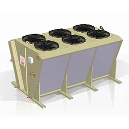 hvv-630 v-shaped air cooled condenser