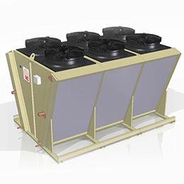 hvv-800 v-shaped air cooled condenser