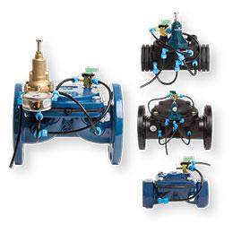 hydraulic membrane valves