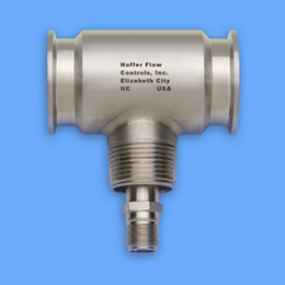 sanitary turbine flow meters