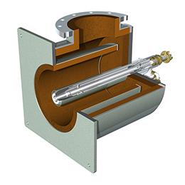 hot air casing burner hcb