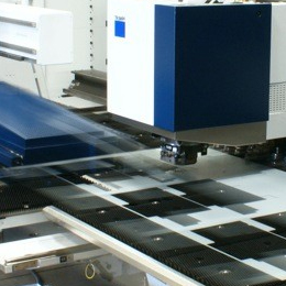 CNC PUNCH PROFILING SHEET METAL