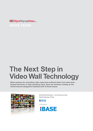 The Next Step in Video Wall Technology