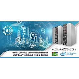 DIN-Rail Embedded System - DRPC-230-ULT5