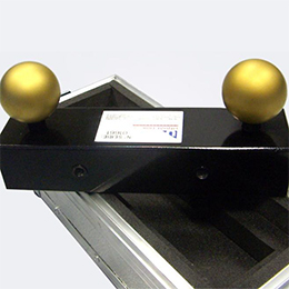 Verification artifacts for CMMs  - Ball bars (for optical systems)