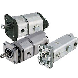high-low multiple gear pumps
