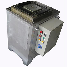 Semi Automatic Tinplate Square Can Flanging Machine
