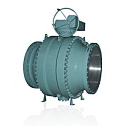 trunnion -cast ball valve
