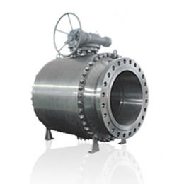 trunnion - forged steel ball valve