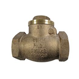 4B bronze swing check valve