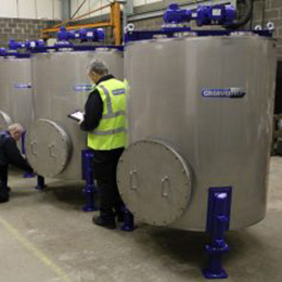 Bulk Blending Storage Vessels