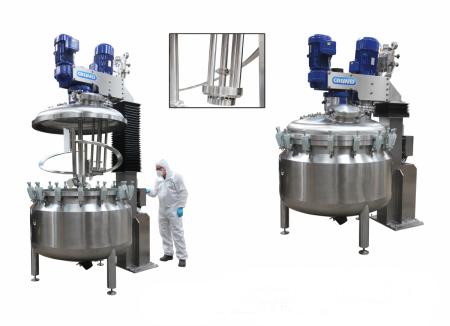 High Sheer Mixers Dispersers