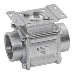 Aluminum ball valves