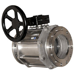 Stainless steel body ball valves