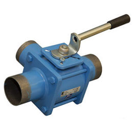 Steel body ball valves