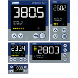 Jumo diraview 104-108-116-132 -digital indicator