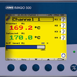 jumo imago 500 - multichannel process controller and program controller-703590