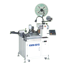 kww-501s automatic single head dip tin terminal machine