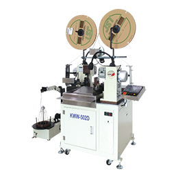 kww-502d automatic double-end crimping terminal machine