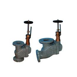 Storm globe valves and angle valves