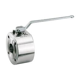 Wafer type ball valve