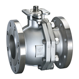 TWO PIECE FLANGED BALL VALVE F203H
