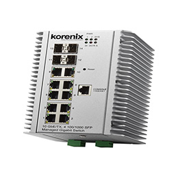 Industrial Managed Switch JetNet 7014G